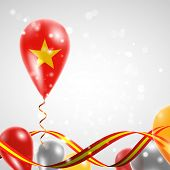 pic of twist  - Flag of Vietnam on balloon - JPG