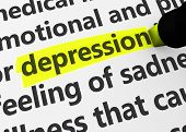 pic of depressed  - Head disease and illness concept with a close - JPG