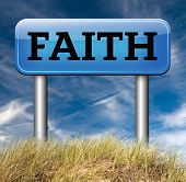 picture of faithfulness  - faith in god follow jesus and say your prayer believe in the holy bible - JPG