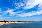 foto of outer  - beautiful beach at the outer banks in america - JPG
