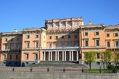 stock photo of castle  - The Mikhailovsky Castle  - JPG