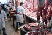 stock photo of giblets  - Athens Greece  - JPG