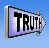 foto of honesty  - truth be honest honesty leads a long way find justice law and order road sign - JPG