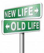 foto of makeover  - new life versus old life fresh beginning or start again last chance for you by remake or makeover