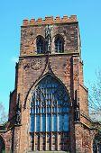 pic of church-of-england  - View of the Abbey Church of Saint Peter and Saint Paul Shrewsbury Shropshire England UK Western Europe - JPG