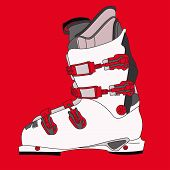 foto of ski boots  - Sports rigid men - JPG
