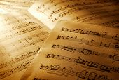 picture of music note  - Music notes - JPG