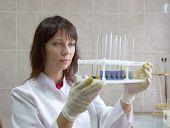 blood biochemical analysis poster