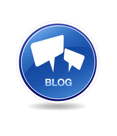 image of blog icon  - High resolution graphic of a blog icon with speech bubbles - JPG