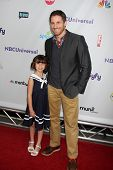 LOS ANGELES - AUG 1:  Savannah Paige Rae, Sam Jaeger arriving at the NBC TCA Summer 2011 All Star Pa