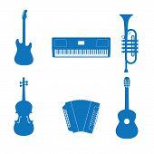 Постер, плакат: Музыкальный инструмент