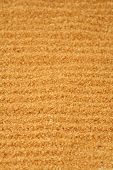 stock photo of quicksand  - Brown background of brown reed granulated sugar - JPG