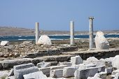 Ancient Sacred Island Of Delos, Greece
