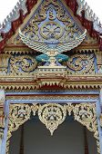 stock photo of garuda  - Garuda at the temple of Thailand - JPG