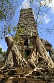 pic of coexist  - Preah Palilay is a temple at Angkor Cambodia - JPG