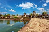 pic of hindu temple  - Angkor Wat Temple - JPG