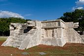 Platform Of Venus At The Maya Archaeological Site Of Chichen Itza, Yucatan, Mexico
