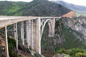 pic of bixby  - Famous Bixby Bridge in Big Sur California - JPG