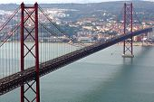 Portugal, Lisbon: 25 Abril Bridge