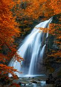 foto of cataract  - Beautiful Waterfall - JPG