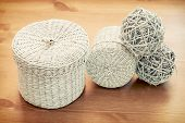 Set Of Seagrass Basket