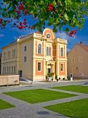 pic of synagogue  - Synagogue in Town of Krizevci Prigorje region Croatia - JPG