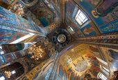 image of church interior  - SAINT PETERSBURG RUSSIA  - JPG