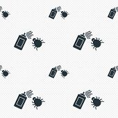 image of disinfection  - Bug disinfection sign icon - JPG