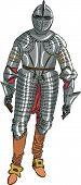 foto of armor suit  - vector set of metal armor medieval knight - JPG