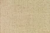 image of canvas  - Natural textured horizontal grunge burlap sackcloth hessian sack texture - JPG