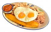 foto of medellin  - Typical Colombian meal from the city of Medellin - JPG