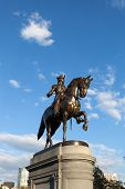 Постер, плакат: Boston George Washington Statue