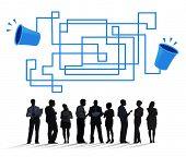 pic of telecommunications equipment  - Communication Connection Telecommunication Telephone Transmit Concept - JPG