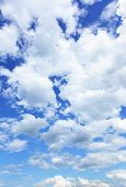 image of puffy  - Cloudscape - JPG