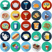 picture of flat-bread  - Food  Icons - JPG