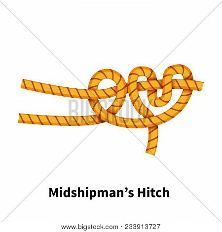 Midshipmans Hitch Sea Knot Bright