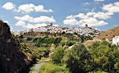 picture of mica  - View the town of Arcos de la Frontera - JPG