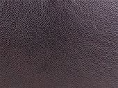 Genuine Black Cattle Leather Texture Background. Macro Photo poster