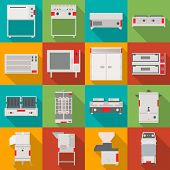 Isolated Object Of Domestic And Appliances Icon. Collection Of Domestic And Furniture Stock Vector I poster