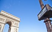 pic of charles de gaulle  - The Arc de Triomphe  - JPG