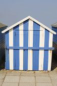 Beach Hut At Ferring. West Sussex. England