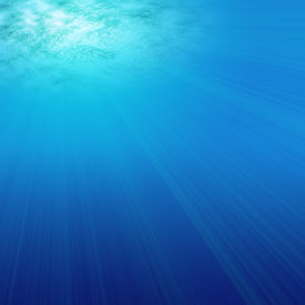 image of under sea  - Under water illustration that would make an ideal background - JPG