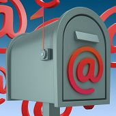 E-mail Postbox Shows Inbox And Outbox Mail