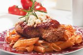 pic of cheese-steak  - Chicken parmesan - JPG