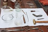 Antique Dentist Tools