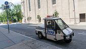 stock photo of nypd  - NEW YORK CITY  - JPG