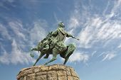 picture of hetman  - Monument to the Ukrainian historical and political leader hetman B - JPG