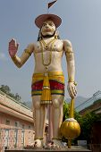 foto of hanuman  - famous and respectable Indian God Hanuman - JPG