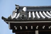 picture of kan  - Roof detail on the historic Kan - JPG