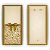 image of brocade  - Elegant template luxury invitation - JPG